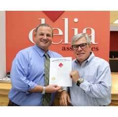Delia Associates receives notification from the US Patent & Trademark Office that its proprietary brand development process is now a registered trademark.