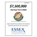 Essex Closes $7.5 Million Term Debt Capital Raise