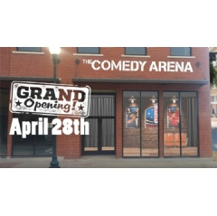 The Comedy Arena opens on April 28 in McKinney, TX