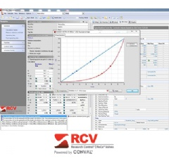 RCVcalc is a robust software tool that adapts to the process requirements of your application and guides you through sizing the right control valve for virtually any application.
