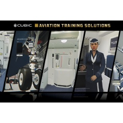 Cubic enhances immersive virtual aircraft training environments, customizable to a customer's specific instructional procedures