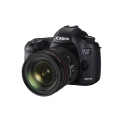 The EOS 5D Mark III, delivering both high-quality still images and video