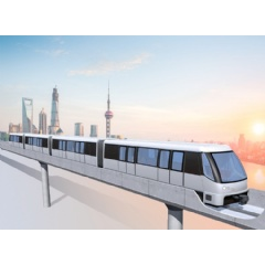 The new urban APM system will extend Shanghai Metro Line 8 to Shanghai's Pujiangzhen district
