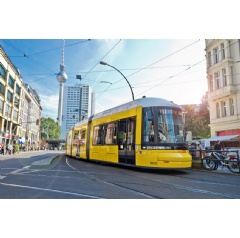 In 2017, a total of 142 BOMBARDIER FLEXITY trams will be in service in Berlin