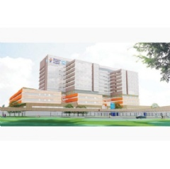 Rendering of Vaughan's future Mackenzie Health Hospital