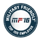 Cubic Listed Among Top 100 Military Friendly Employer 2016 by Victory Media for Third Consecutive Year