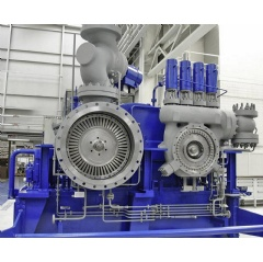 Six compact SST-110 steam turbines will be deployed in process steam systems at industrial facilities in the Midwestern U.S.
