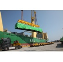 Modules for first heat recovery steam generator on the way to Egypt