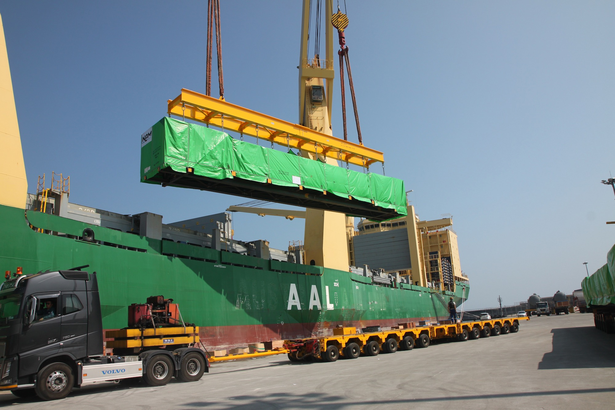 Modules for first heat recovery steam generator on the way to