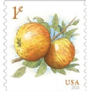 New 1-Cent Apples Stamp is Always Ripe for Mailing