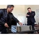 NVIDIA CEO Delivers World�s First AI Supercomputer in a Box to OpenAI