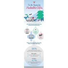Hackable Gifts infographic