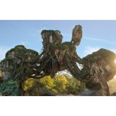 Opening May 27, 2017 at Disney's Animal Kingdom, Pandora - The World of Avatar will bring a variety of new experiences to the park, including a family-friendly attraction called Na'vi River Journey and new food & beverage and merchandise locations.