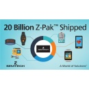 Semtech Ships 20 Billionth Z-Pak™ Protection Device for Mobile Applications