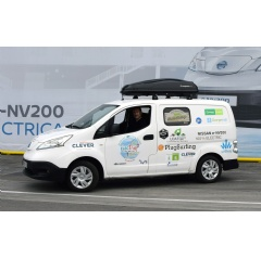 The Nissan e-NV200 is taking on a 35 day European electric tour, demonstrating how its innovative, zero-emission drivetrain can contribute to a more sustainable future.