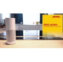 "Effective immediately, Amazon's smart speaker ""Alexa"" can update DHL customers on their parcel shipment"