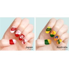 Canon Nail Sticker Designs for Rugby World Cup 2019