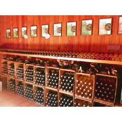 Over 20 wines to choose from at Four Sisters Winery.