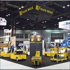 Pack Mule will present its line of industrial electric vehicles and towable vehicles at Pack Expo in Las Vegas beginning September 28