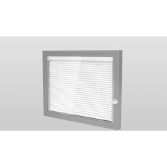 Insulating glass with integrated premium quality blinds