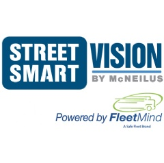 "The SSV10 ""smart"" truck solution that combines McNeilus refuse collection vehicles with FleetMind's mobile onboard computer and DVR platform."