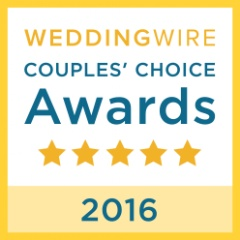 WeddingWire Couples' Choice Award® 2016.