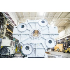 Horsburgh & Scott remanufactured this huge BOF gear drive, saving its customer hundreds of thousands of dollars.