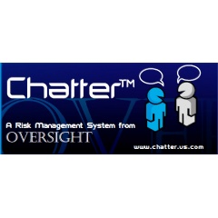 Chatter - Web based software for security risk management designed by Oversight