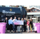 Borden Waste-Away Group and Customers Continue Joint Funding of Life Saving Cancer Research