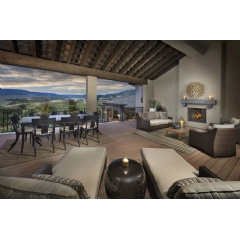The Umbria, one of Celebrity Custom Homes' newest model homes at Pradera in Douglas County, Colorado.