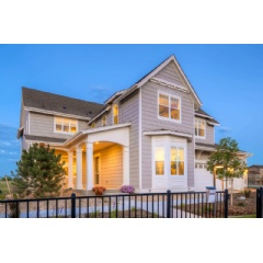 This Wonderland Homes Summit Collection model home is featured in the 2015 Northern Colorado Parade of Homes