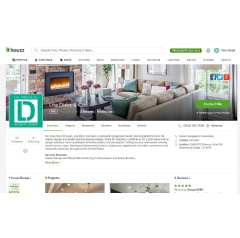 "Interior design and model merchandising company, Lita Dirks & Co., honored as a ""Best of Houzz 2016""."