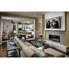 Berkeley Homes' Boulevard One at Lowry - Residence Three, Family Room