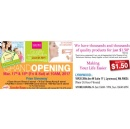 Daiso Japan Announces New Date for Lynnwood Store Grand Opening