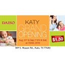 Daiso Japan Announces Grand Opening of First Houston Store