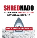 SHREDNADO Community Shred Day to Take a Bite out of Identity Theft Sharks on Sept. 17