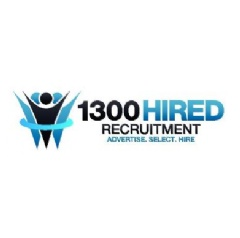 1300Hired's mission is to help their clients acquire quality hires in the fastest time at the lowest overall cost to the business. They are a hiring partner for businesses that may have limited internal resources, finances or time.