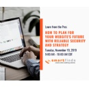 Website Future Planning Webinar Discusses Strategy, Security and Budget For Business
