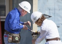 Former President Jimmy Carter and his wife, Rosalynn, will help build and repair homes in Dallas and Fort Worth, Texas, this week for the 31st annual Jimmy & Rosalynn Carter Work Project.