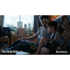"Nissan donated $500,000 to Habitat as part of ""With Dad"" campaign launched during Super Bowl XLIX."