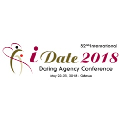 The 52nd iDate Dating Industry Conference takes place on May 24-25, 2018 in Odessa