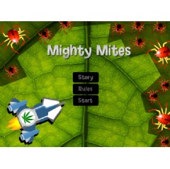 Mighty Mites is an online marijuana game