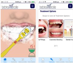 Some Features from our Dental Advice App