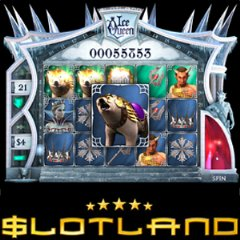 Site-wide progressive jackpot won on Ice Queen, also available for iPhone/Android.