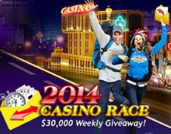 $30,000 in casino bonuses awarded weekly during $225K Casino Race at Jackpot Capital Casino