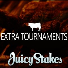 Juicy Stakes has added extra tournaments this weekend and reduced withdrawal fees.