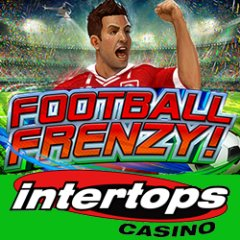Get a $100 casino bonus to try the new football themed slot game, Football Frenzy, at Intertops Casino