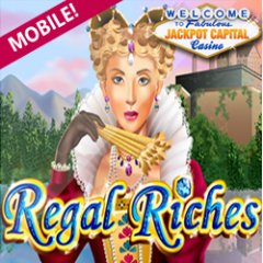 New Regal Riches mobile slot game at JackpotCapital Mobile Casino