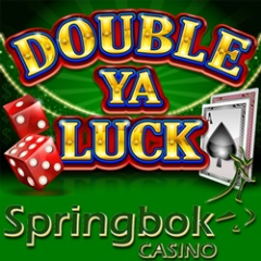 New Double Ya Luck online slot game now at South Africa's Springbok Casino.