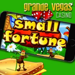 Small Fortune mobile slot game at Grande Vegas Mobile Casino